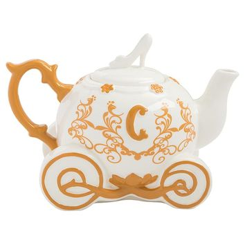 Disney by Vandor Cinderella Carriage Ceramic Teapot New With Box
