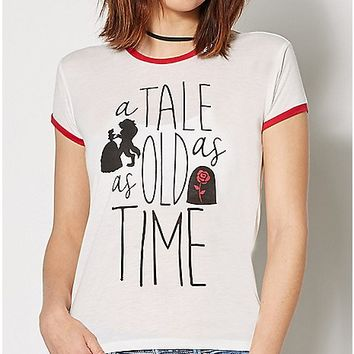 Tale as Old as Time Beauty and the Beast T Shirt - Disney - Spencer's