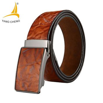 Men belts Luxury Genuine Leather