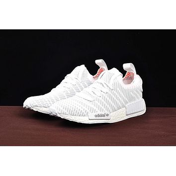 Best Deal Online Adidas NMD R1 PK Boost SPRING SUMMER Men Women Running Shoes White