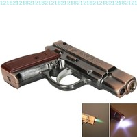Stylish Pistol Shape Cigarette Lighter Copper:Amazon:Kitchen & Dining