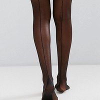 Gipsy French Back Seam Tights at asos.com