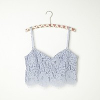 Free People Zinke Lace Crop Bralette