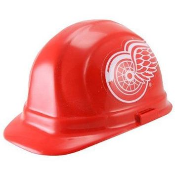 Detroit Red Wings NHL Hard Hat (OSHA Approved)