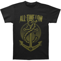All Time Low Men's  Holds It Down T-shirt Black
