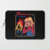 PYROKINESIS FOR BEGINNERS Laptop Sleeve by stevenrhodes