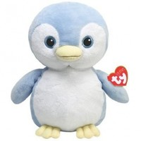 Ty Pluffies Petey - Blue Penguin