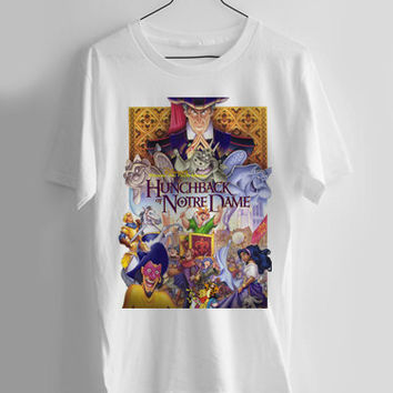 The Hunchback of Notre Dame T-shirt Men, Women Youth and Toddler