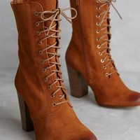 67 Collection Zemlia Boots in Honey Size: