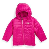The North Face Infant Girl's 'Mossbud' Reversible Jacket,