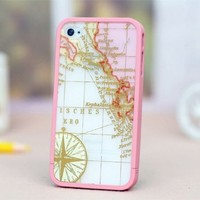 MagicPieces Case for iPhone 4/4S Treasure Map