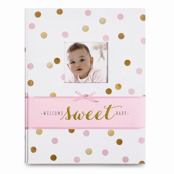 Sweet Sparkle Baby Girl Memory Book