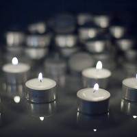 White Tealight Candles | Unscented Tealights | Long Burning Tealights