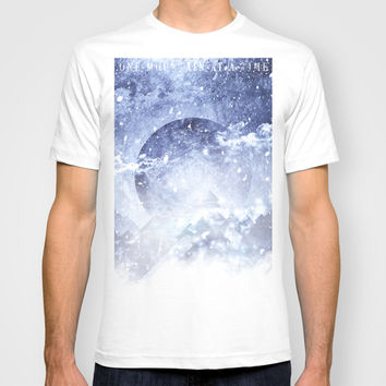 Even mountains get cold T-shirt by HappyMelvin