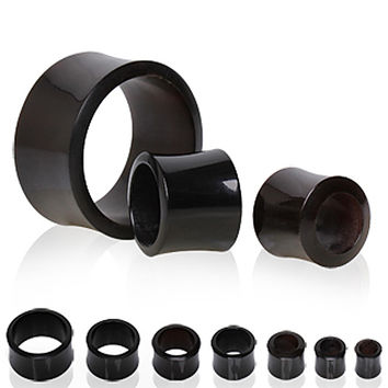 Buffalo Horn Tunnel Plug