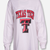 "Pressbox Texas Tech ""Old West"" on White Sweeper"