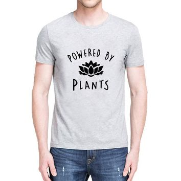 Powered By Plants T-Shirts - Men's Casual Tees