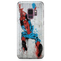 Spiderman Logo Samsung Galaxy S9 Case | Casefantasy