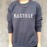 BASTILLE Band Jumper Top Sweater Music Rock Tour Tumblr Pompeii Of the night bastile
