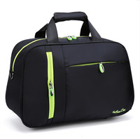 Large Gym Bag Polyester Super Light Waterproof Workout Sport Bag Travel Carry On