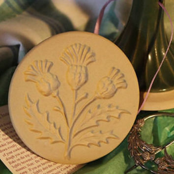 Cookie Stamp, Thistle, 3