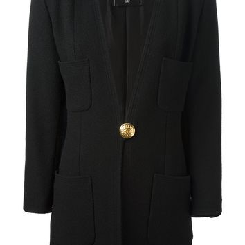 Chanel Vintage V-Neck Jacket