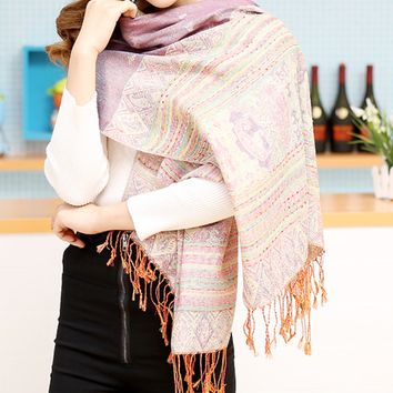 Fashion Women's Winter Autumn Scarf Cape Wrap Shawl