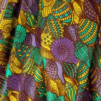 Dutch Design Modern African Fabric VFY20186 HALF YARD (45 cm)