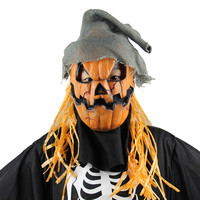 1pc High Brand New quality Halloween Party Mask Cosplay Mask Pumpkin Scarecrow Terror