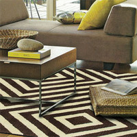 Zuel Rug - Masterfully Modern Living Room - Modern - Style - PoshLiving