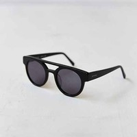 KOMONO CRAFTED Dreyfuss Black Round Sunglasses- Black One