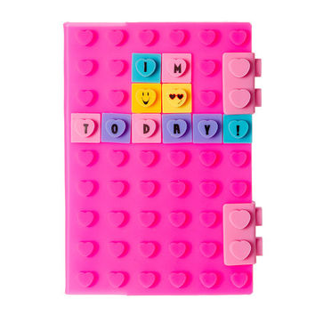 Silicone Emoticon Journal Kit