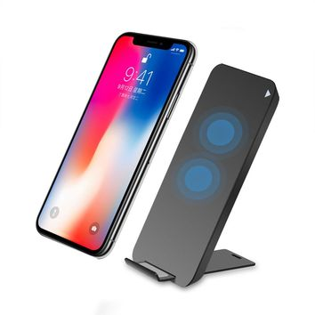 Wireless Power Charger Portable Fast Charging Charging Pad With A Cradle For iPhone