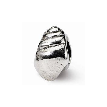 Sterling Silver Reflections Conch Shell Bead