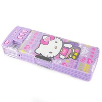 Hello Kitty Deluxe Pencil Case: Sporty Collection