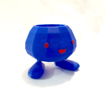 Oddish Pokemon Planter Pot 3D Printed