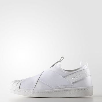 adidas Superstar Slip On W - White | adidas US