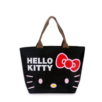 lovely hello kitty Women Casual shopping bag Cartoon handbags oxford tote mummy bag picnic bag  4 colors