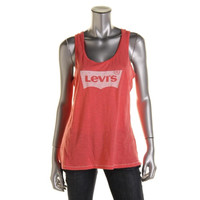 Levi's Womens Slub Graphic Tank Top