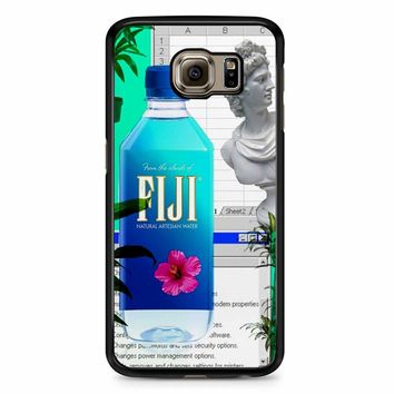 Fiji Water Vaporwave Samsung Galaxy S6 Edge Plus Case