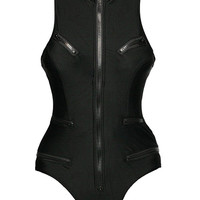 Sports Full Zip One-Piece Swimwear LAVELIQ
