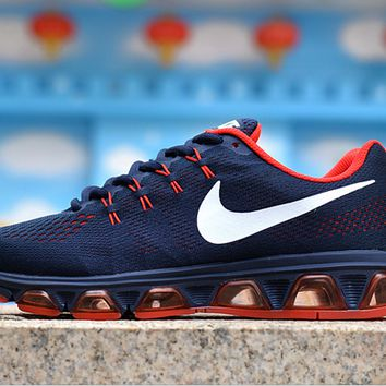 """""""NIKE"""" knitting fashion casual men shoes running shoes breathable couple shoes"""