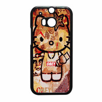 Obey Hello Kitty HTC One M8 Case