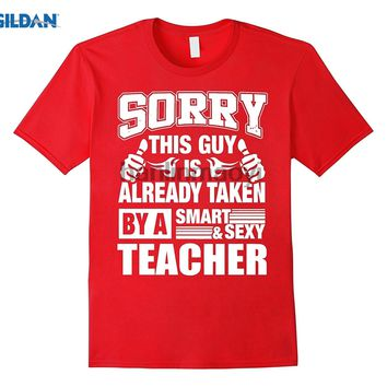 THIS GUY IS TAKEN BY TEACHER Graphic T Shirt