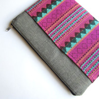 Aztec MacBook 13 sleeve with pockets, MacBook Air 13 sleeve, MacBook Air 13 Case, MacBook Pro 13 case, MacBook Pro 13 sleeve, MacBook sleeve