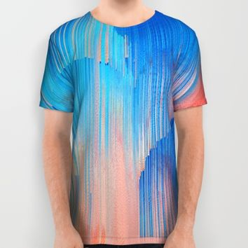 Hot n' Cold All Over Print Shirt by Ducky B