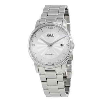 Mido Baroncelli III Automatic Silver Dial Mens Watch M0104081103700