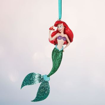 Licensed cool 2016 Disney Store Little Mermaid Ariel Sketchbook Holiday Christmas Ornament NEW
