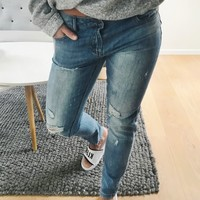 RW Girlfriend Jeans