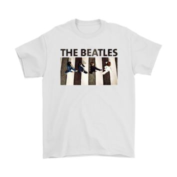 QIYIF From Above The Beatles Abbey Road Music Shirts